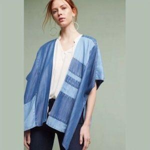 cloth & stone Patchwork Kimono Wrap One Size